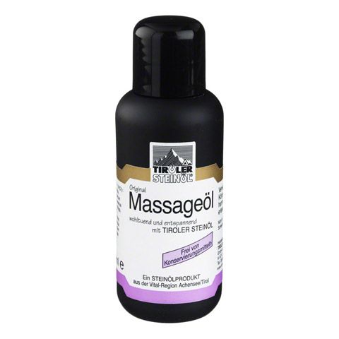 TIROLER STEINÖL Massage 100 Milliliter