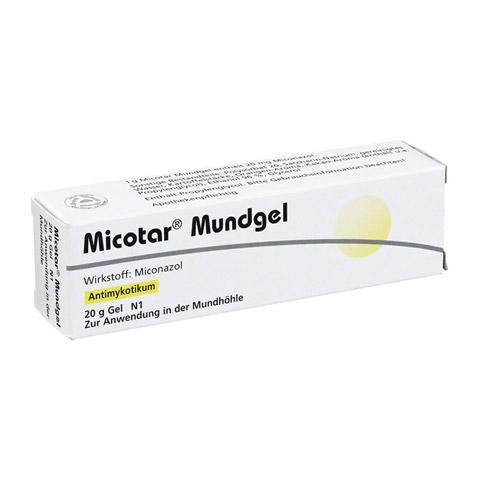 Micotar Mundgel 20mg/g 20 Gramm N2