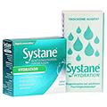 SYSTANE Hydration Benetzungstropfen für die Augen + gratis Systane Taschentücher 3x10 Milliliter