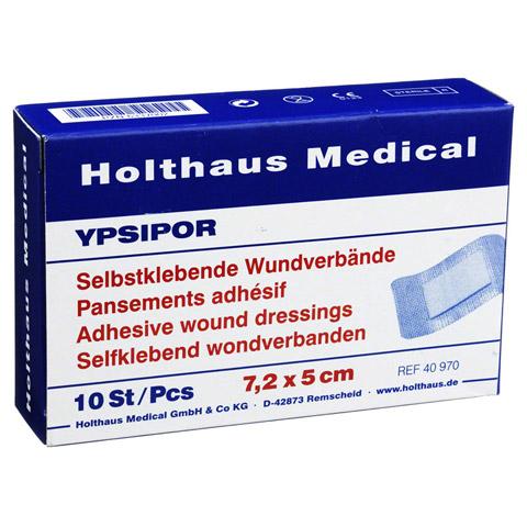 WUNDVERBAND Ypsipor steril 5x7,2 cm 10 Stück