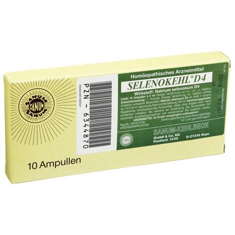 SELENOKEHL Injektion Ampullen 10x2 Milliliter N1