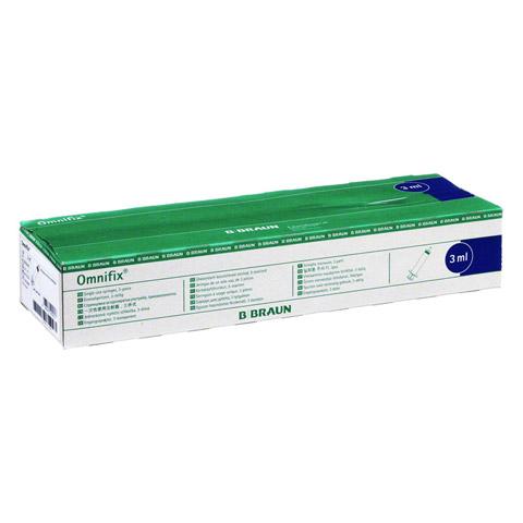OMNIFIX Solo Spr.3 ml Luer Lock latexfrei 100x3 Milliliter