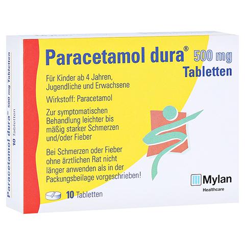 Paracetamol dura 500mg 10 Stück N1