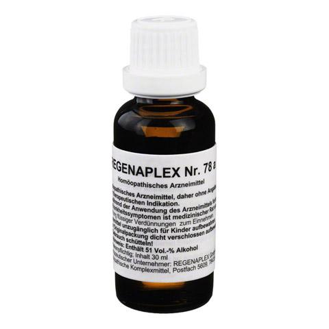 REGENAPLEX Nr.78 a Tropfen 30 Milliliter N1
