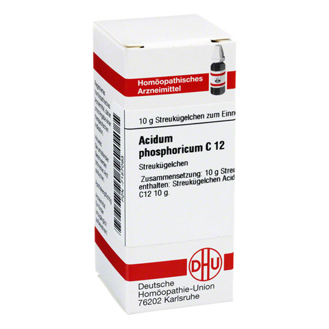 ACIDUM PHOSPHORICUM C 12 Globuli 10 Gramm N1