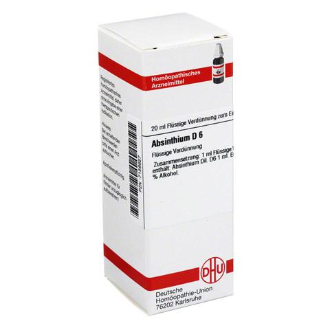 ABSINTHIUM D 6 Dilution 20 Milliliter N1