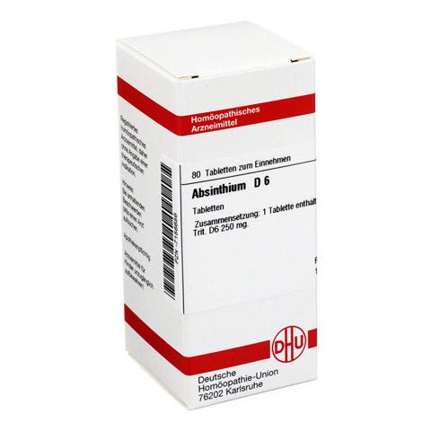 ABSINTHIUM D 6 Tabletten 80 Stück N1