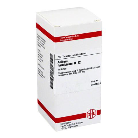 ACIDUM FORMICICUM D 12 Tabletten 200 Stück N2