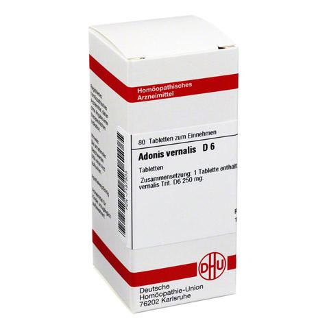 ADONIS VERNALIS D 6 Tabletten 80 Stück N1