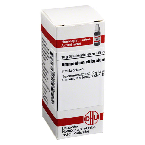 AMMONIUM CHLORATUM D 12 Globuli 10 Gramm N1