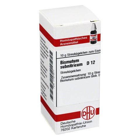 BISMUTUM SUBNITRICUM D 12 Globuli 10 Gramm N1