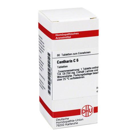 CANTHARIS C 6 Tabletten 80 Stück N1