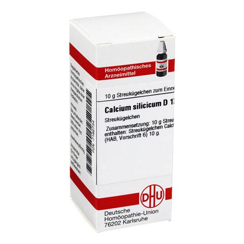 CALCIUM SILICICUM D 12 Globuli 10 Gramm N1