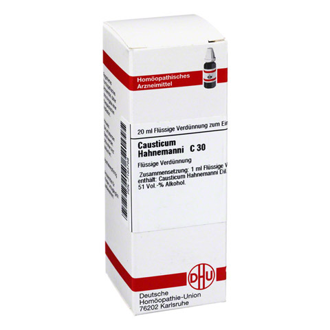 CAUSTICUM HAHNEMANNI C 30 Dilution 20 Milliliter N1