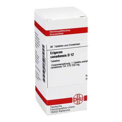 ERIGERON CANADENSIS D 12 Tabletten 80 Stück N1