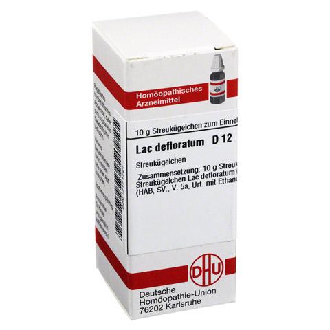 LAC DEFLORATUM D 12 Globuli 10 Gramm N1