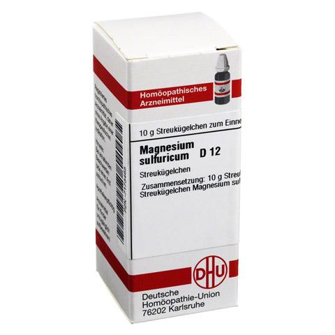 MAGNESIUM SULFURICUM D 12 Globuli 10 Gramm N1