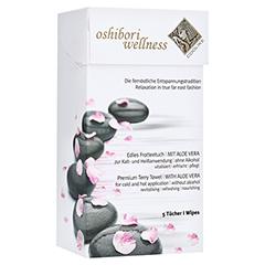OSHIBORI Wellness 5 Erfrischungstuch aus Frottee 5 Stück