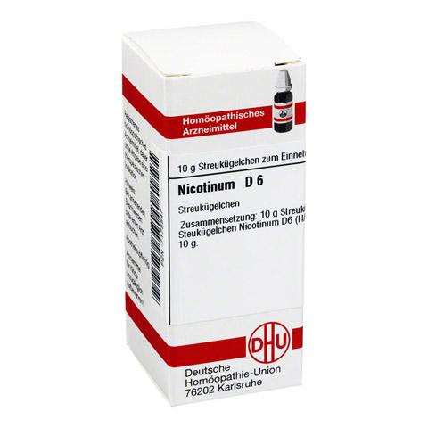 NICOTINUM D 6 Globuli 10 Gramm N1