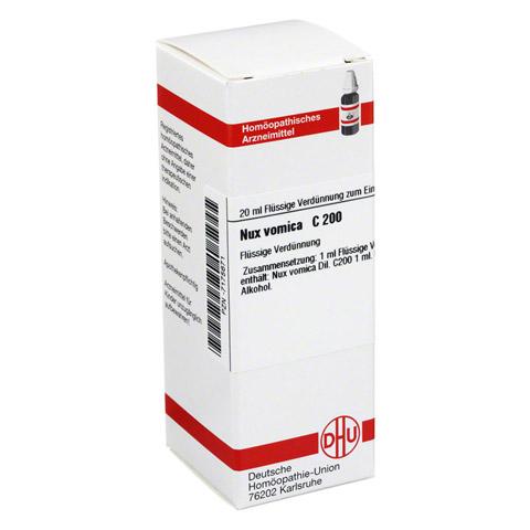 NUX VOMICA C 200 Dilution 20 Milliliter N1