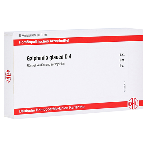 GALPHIMIA GLAUCA D 4 Ampullen 8x1 Milliliter N1