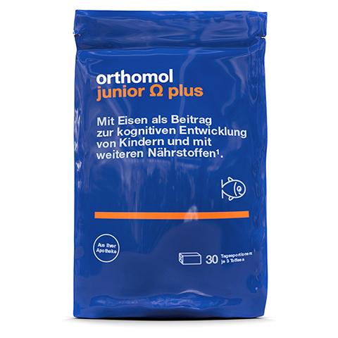 Orthomol Junior Omega Plus Toffee mit Fruchtgeschmack 90 Stück