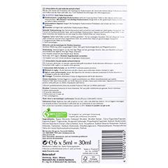 EUCERIN Anti-Age HYALURON-FILLER Serum Ampullen 6x5 Milliliter - Rückseite
