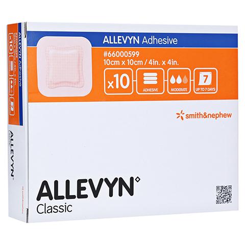 ALLEVYN Adhesive 10x10 cm haftende Wundauflage 10 Stück