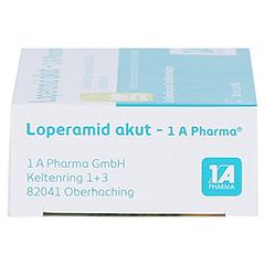 Loperamid akut-1A Pharma 10 Stück N1 - Rechte Seite