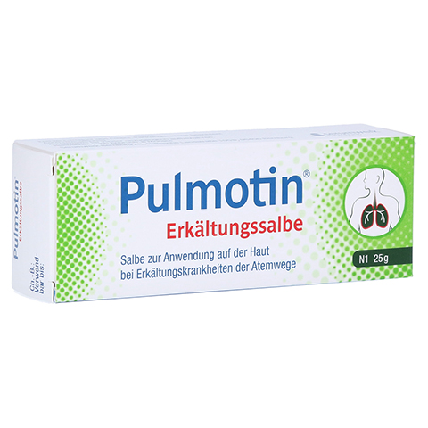 Pulmotin Erkältungssalbe 25 Gramm N1