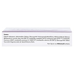 Symbiolact PLUS Kapseln 30 Stück - Unterseite