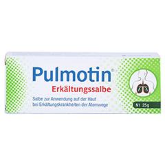 Pulmotin Erkältungssalbe 25 Gramm N1 - Vorderseite