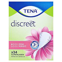 TENA LADY Discreet Einlagen mini magic 34 Stück - Vorderseite