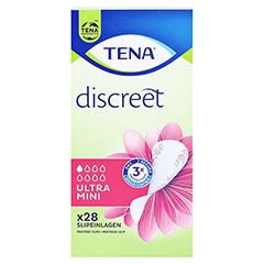 TENA LADY Discreet Einlagen ultra mini 28 Stück - Vorderseite