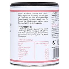 SUPERFOOD Trinkpulver BEAUTY QUEEN 100 Gramm - Linke Seite