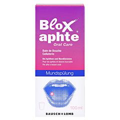 BloXaphte Oral Care Mundspülung 100 Milliliter - Vorderseite