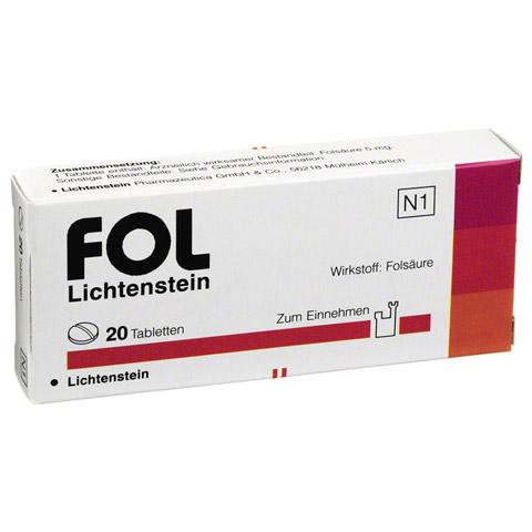 Fol Lichtenstein 5mg 20 Stück N1