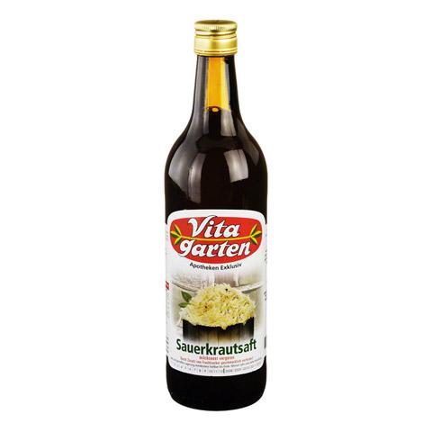 VITAGARTEN Sauerkraut Saft 750 Milliliter