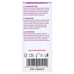 BloXaphte Oral Care Spray 20 Milliliter - Rückseite