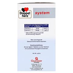 Doppelherz Vitamin D3 2000+K2 System Tabletten 120 Stück - Linke Seite
