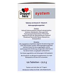Doppelherz Vitamin D3 2000+K2 System Tabletten 120 Stück - Rechte Seite