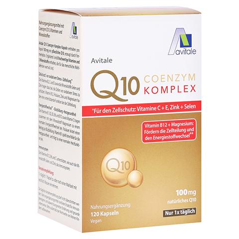 Coenzym Q10 100 mg Kapseln + Vitamine + Mineralstoffe 120 Stück