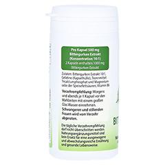 BITTERGURKE 500 mg 10:1 Extrakt Kapseln 60 Stück - Rechte Seite