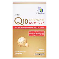 Coenzym Q10 100 mg Kapseln + Vitamine + Mineralstoffe 120 Stück - Vorderseite