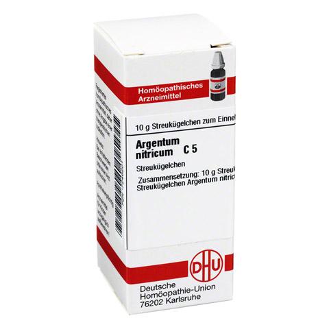 ARGENTUM NITRICUM C 5 Globuli 10 Gramm N1