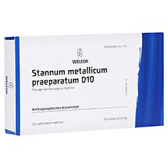 STANNUM METALLICUM praeparatum D 10 Ampullen 8x1 Milliliter N1