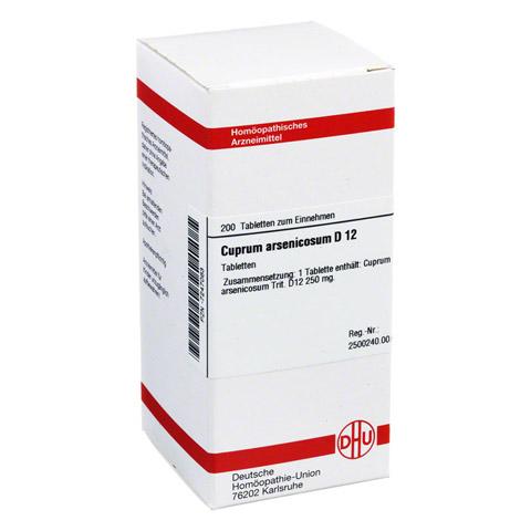 CUPRUM ARSENICOSUM D 12 Tabletten 200 Stück N2