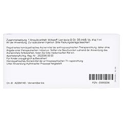 LIEN GL D 5 Ampullen 10x1 Milliliter N1 - Rückseite