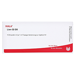 LIEN GL D 5 Ampullen 10x1 Milliliter N1 - Vorderseite