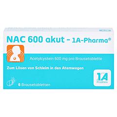 NAC 600 akut-1A Pharma 6 Stück - Vorderseite